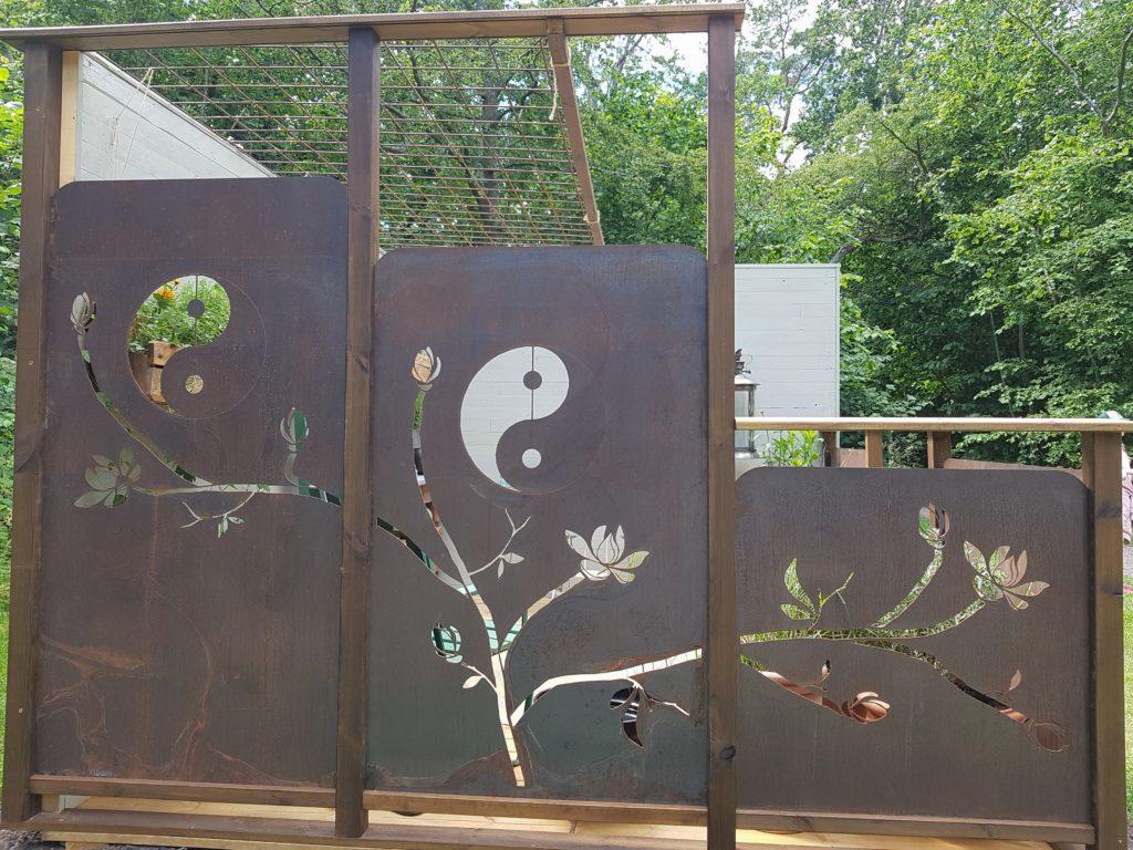 Utställningsträdgård Solliden 2019 av Rose´s Feng Shui